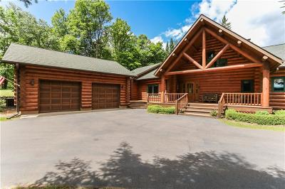 Single Family Home For Sale: N3377 Curtis Road