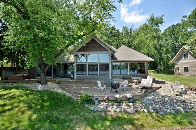 RICE LAKE Single Family Home For Sale: 1311 Lakeshore Drive