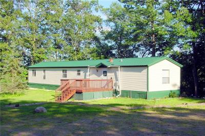 Rusk County Manufactured Home For Sale: N1003 Deerhead Point Rd.