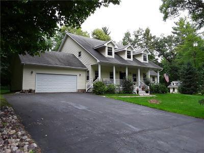 Menomonie Single Family Home For Sale: E5358 732nd Avenue