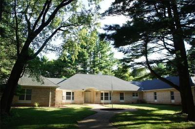 Eau Claire Single Family Home For Sale: 883 Grover Road