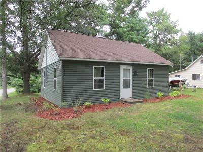Chetek WI Single Family Home For Sale: $148,000