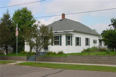 Bruce WI Single Family Home For Sale: $79,900