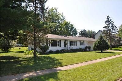 Fall Creek WI Single Family Home Sold: $130,000