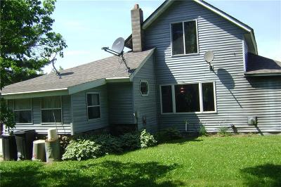 Clark County Single Family Home For Sale: W10554 Bemis Rd.