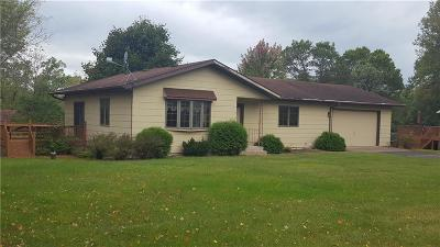 Chippewa Falls Single Family Home Active Offer: 4176 114th Street