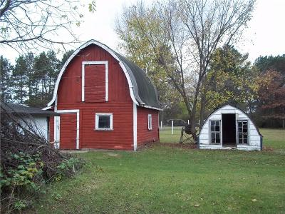 Osseo WI Single Family Home For Sale: $79,000