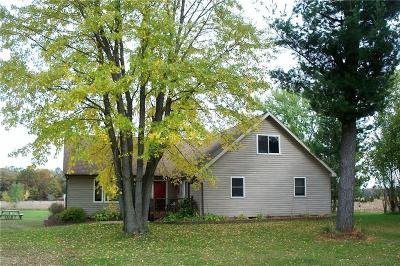 Menomonie Single Family Home For Sale: 6533 E 210th Avenue