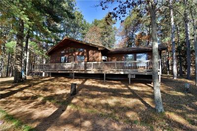 Minong Single Family Home For Sale: N 12791 Three Mile Road