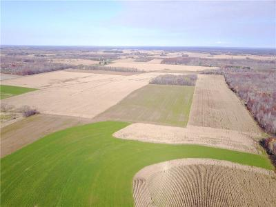 Jackson County, Clark County, Trempealeau County, Buffalo County, Monroe County, Chippewa County, Eau Claire County Residential Lots & Land For Sale: Hwy F