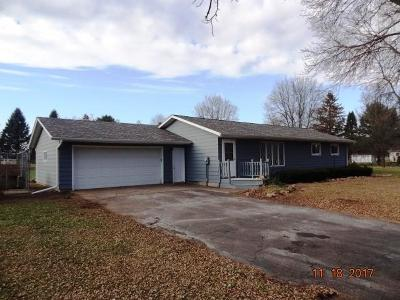 Chippewa Falls Single Family Home For Sale: 18179 45th Avenue