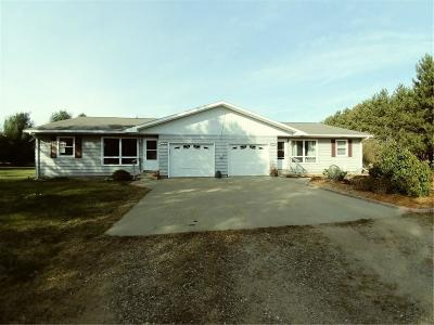 Chippewa Falls Multi Family Home For Sale: 6510, 6512 192nd Street #1,2