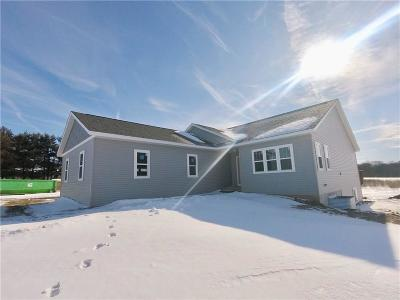 Chippewa Falls Single Family Home For Sale: 19255 Cty Hwy J (30th Ave)