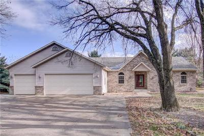 Eau Claire Single Family Home For Sale: 1669 Red Pine Road