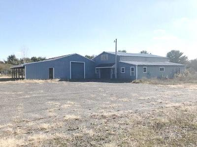 Jackson County Commercial For Sale: W11099 Clark Road