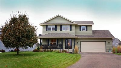 Eau Claire Single Family Home For Sale: 4122 Mill Run Road