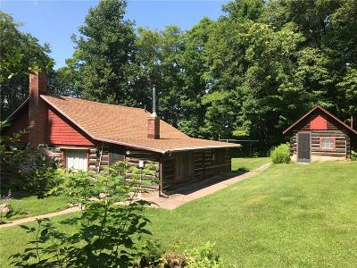 Clam Lake WI Single Family Home For Sale: $239,000