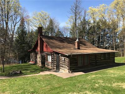Clam Lake WI Single Family Home For Sale: $479,000