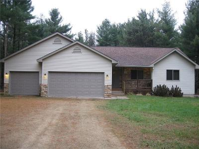 Menomonie Single Family Home Active Offer: N7779 562nd Street