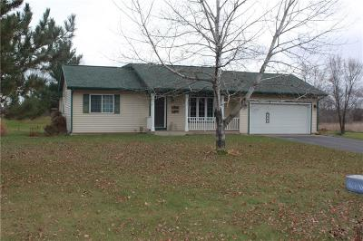 Menomonie Single Family Home For Sale: N3150 460th Street