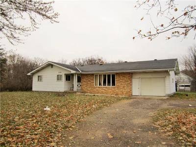 Menomonie Single Family Home For Sale: 3103 Dairyland Road