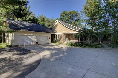 Chippewa Falls Single Family Home For Sale: 13609 190th Street