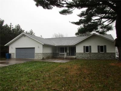 New Auburn WI Single Family Home For Sale: $289,900