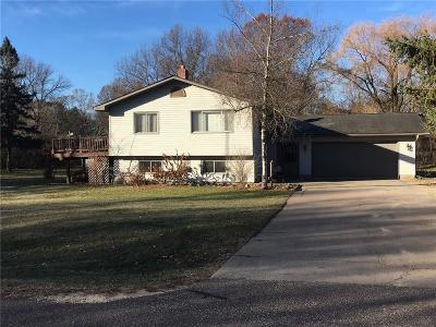 Menomonie Single Family Home For Sale: N3107 457th Street