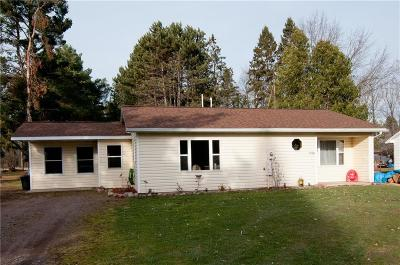 Exeland WI Single Family Home For Sale: $75,000