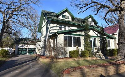 RICE LAKE Single Family Home For Sale: 27 W Stout Street