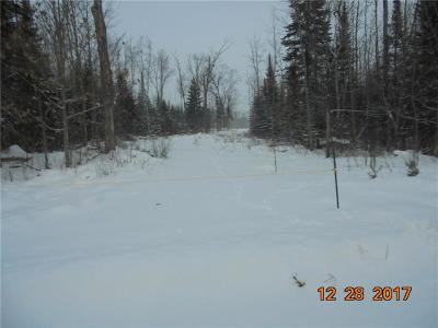 Solon Springs WI Residential Lots & Land For Sale: $35,000