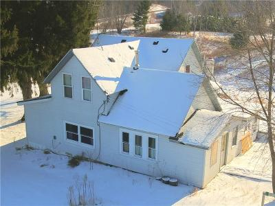 Osseo Single Family Home For Sale: N46101 Hwy 53