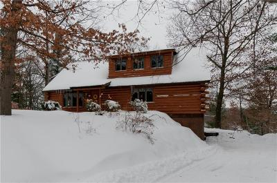 Shell Lake WI Single Family Home Sale Pending: $225,000