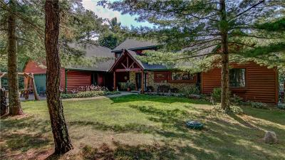 Single Family Home For Sale: N10383 Shore Drive
