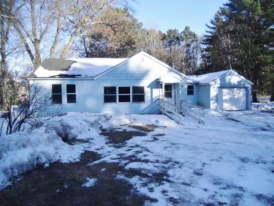 Siren WI Single Family Home For Sale: $71,000