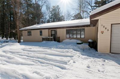 Cameron WI Single Family Home Sale Pending: $325,000