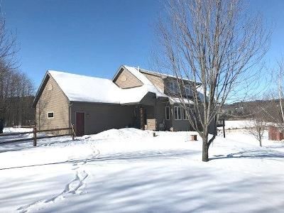 Jackson County, Clark County Single Family Home Active Offer: W10348 Prindle Road