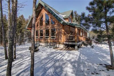 Trego WI Single Family Home For Sale: $439,000