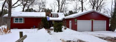 Rice Lake WI Single Family Home For Sale: $145,000