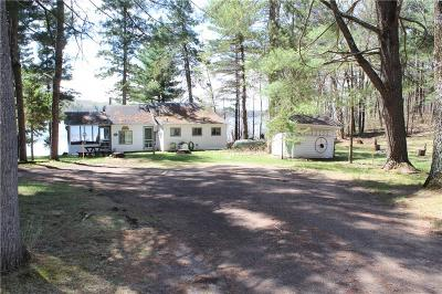 Stone Lake WI Single Family Home For Sale: $299,000
