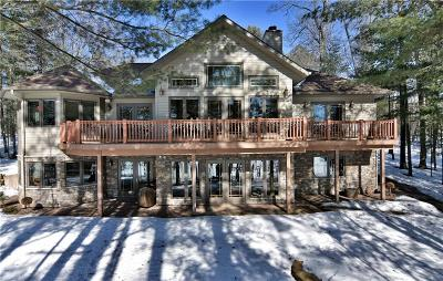 Single Family Home For Sale: 49159 East Shore Road