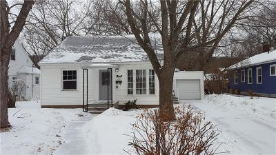 Eau Claire Single Family Home For Sale: 1405 Drummond Street