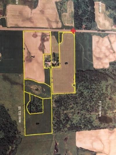 Jackson County, Clark County, Trempealeau County, Buffalo County, Monroe County, Chippewa County, Eau Claire County Residential Lots & Land Active Offer: 12873 State Highway 27