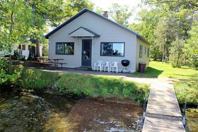 Spooner Single Family Home For Sale: W6038 Spooner Lake Road
