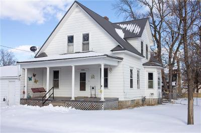 Osseo WI Single Family Home For Sale: $125,000