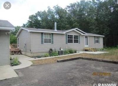 Jackson County, Clark County Manufactured Home For Sale: W11595 Goldsmith Road