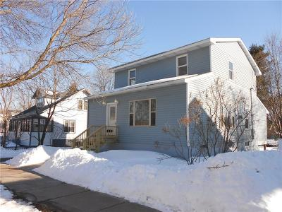 RICE LAKE Single Family Home For Sale: 308 W Eau Claire Street