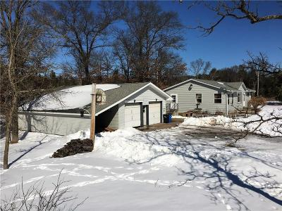 Grantsburg Single Family Home Active Under Contract: 25161 Spaulding Road