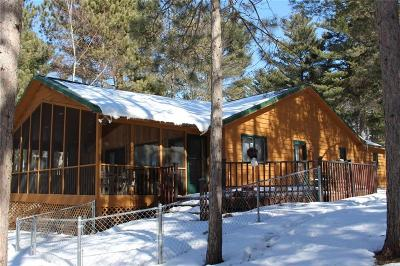 Webster WI Single Family Home For Sale: $360,000