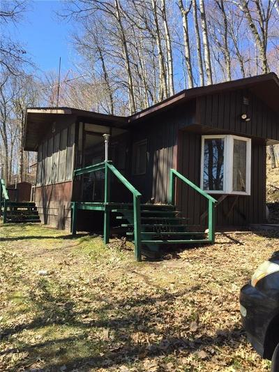Trego WI Single Family Home For Sale: $94,900
